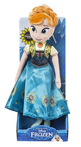 Disney Fièvre Frozen Anna Jouet en Peluche (Multicolore)