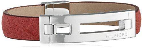 Tommy Hilfiger Herren-Armband Edelstahl Leder 22 cm-2700877