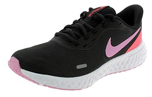 Nike Wmns Revolution 5 Scarpe Sportive Donna Nere BQ3207008 Nero 38 EU