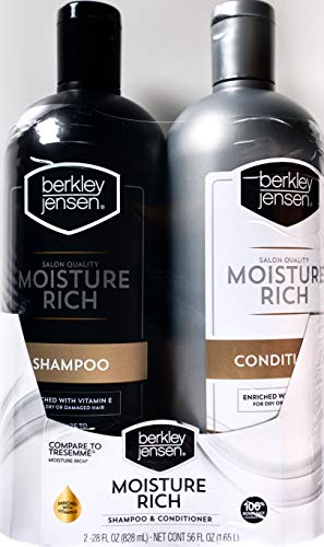 Berkley Jensen Salon Quality Moisture Rich Shampoo and Conditioner, 56 FL OZ