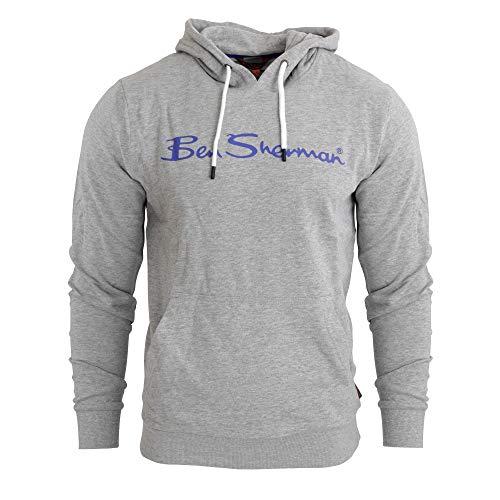 Ben Sherman - Sudadera con Logotipo para Chico Hombre (L) (Gris Jaspado)