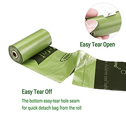 Yingdelai Dog Poo Bags - 26 Rolls 390 Bags with 1 Dispenser-Biodegradable,Eco Friendly Poop Bags Dog 2