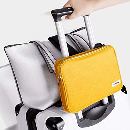 「スーツケースカンパニー」GPTショルダーバッグ付き荷物固定 ベルト バンド 大 スーツケース キャリーバッグ キャリーケース 旅行 出張 アウトレット イエロー