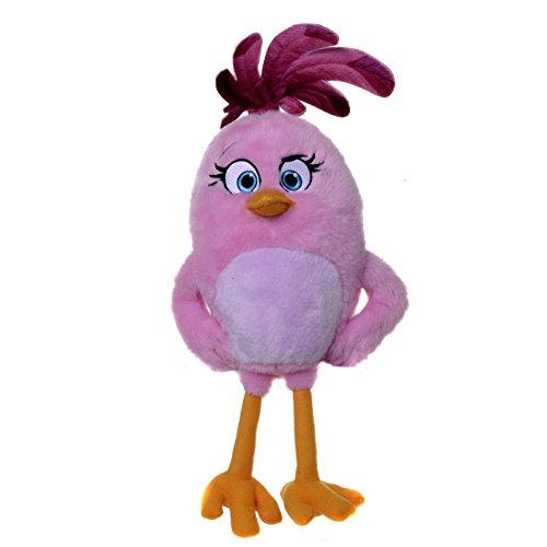 Angry Birds Stella - Peluche, 30 cm - Rosa Película Oficial