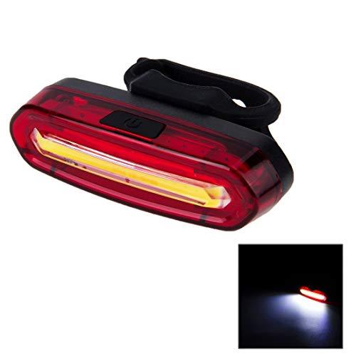 MYCHOME AQY-096 IPX4 - Luz Trasera para Bicicleta (USB Desmontable, Recargable, luz LED de un Solo Color)