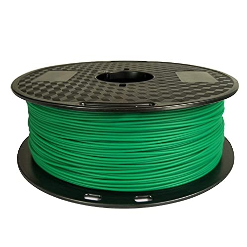 PLA MAX PLA+ Green PLA Filament 1.75 mm 3D Printer Filament 1KG 2.2LBS Spool 3D Printing Material Strength Than PLA PRO PLA Plus Filament CC3D Grass Green Color
