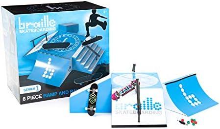 Braille Skateboarding Skate Ramp Playset