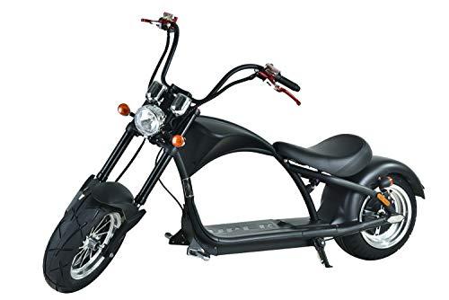 Elektroroller mit Straßenzulassung Chopper X9, E-Scooter E-Roller 45 km/h, 3000 Watt, 50km Reichweiter, Roller