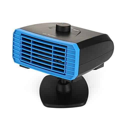 CHENJIAO Beweglicher Auto-Heizung 12V 150W Mit Heizen Und Kühlen 2 In 1 Modi Dreht 360 ° for Schnelle Heizung Defrost Defogger, Auto Winds Auto Heater (Color Name : Base Type)