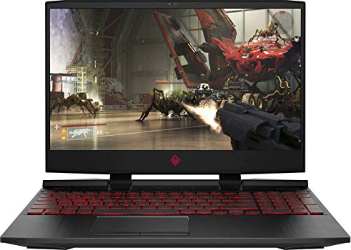 "HP OMEN 15.6"" FHD IPS High Performance Gaming Laptop, Intel Quad Core i5-9300H Upto 4.1GHz, 16GB DDR4, 256GB NVMe SSD + 1TB HDD, NVIDIA GeForce GTX 1650 4GB, WiFi 6 AX200, Backlit Keyboard, Windows 10"