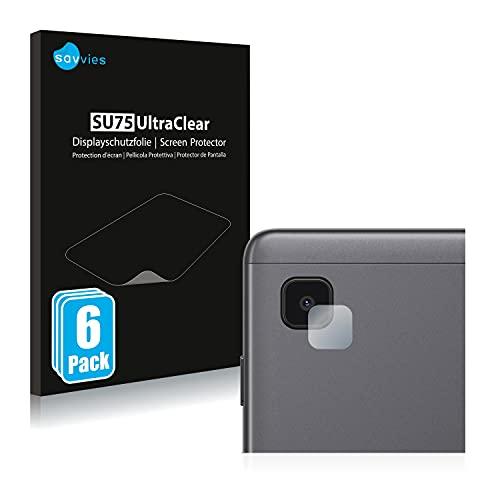 savvies Protector Pantalla Compatible con Samsung Galaxy Tab A7 Lite Wi-Fi 2021 (SÓLO Cámara) (6 Unidades) Película Ultra Transparente