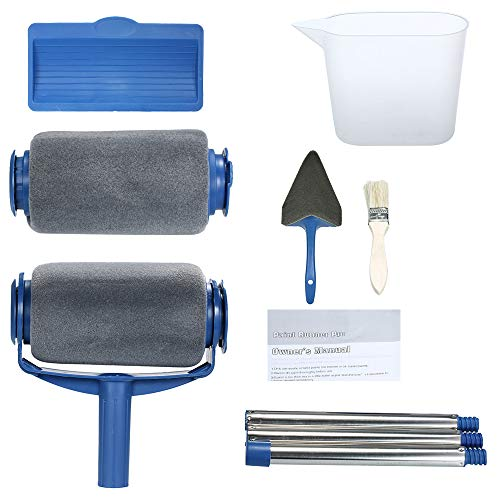 120 mm Edge Paint Roller for Cutting in and Painting Stripes Colour Application Tool