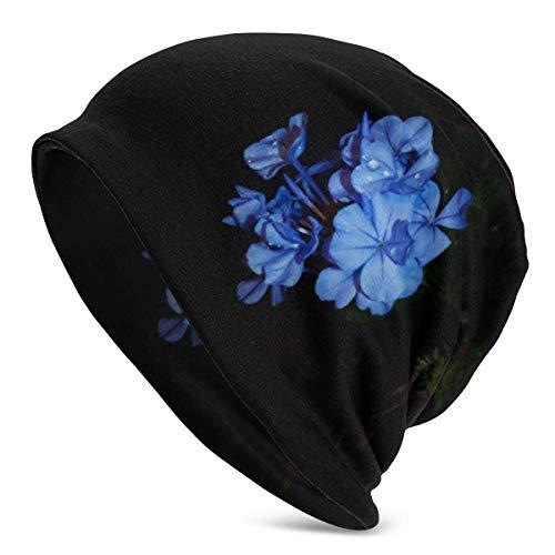 Whecom Schöne lila Blume Slouchy Beanie Hut Winter Schädel Kappe für Männer Frauen Geschenke