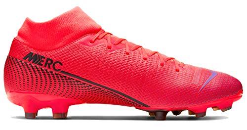 Nike Herren Superfly 7 Academy Fg/Mg Fußballschuhe, Rot (Laser Crimson/Black-Laser Crim 606), 44 EU