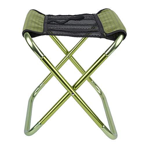 Bicaquu Silla de Camping, sillas Plegables para Exteriores, Silla de Camping para niños, Silla Plegable portátil Duradera, para Pescar para Barbacoa