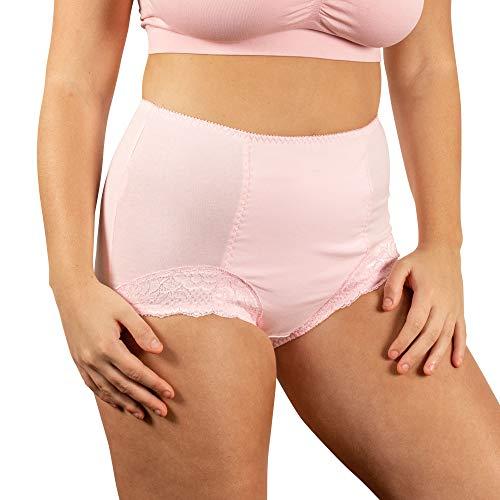 [Conni]レディース・シャンティ(10, ピンク)尿漏れパンツ 軽失禁対応(250?280cc) 女性用下着 おしゃれショーツ