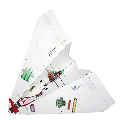 SRR Modello di Aereo RC, 550 mm di Apertura alare Fai da Te Magic Board Paper Telecomando, Aereo RC, Aereo RC, principiante PNP, Aereo telecomandato, Aereo RC