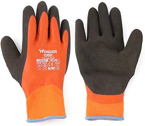 qingtianlove Kalt- und Frostschutzhandschuhe, wasserdichte, rutschfeste, warme, kalte Tiefkühlhandschuhe für die Gefriermaschine, EIN Paar vollhängender Kleber Handschuhe