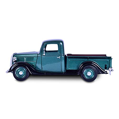 Miniatura Ford Pickup 1937 Verde Motormax 1/24