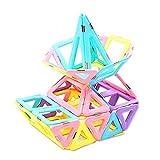 Bloques de construcción Niños 3-12 años de edad, juguetes educativos montados bloques de construcción imán bloques de construcción juguetes magnéticos Puzzle favores de partido suministros para los ni