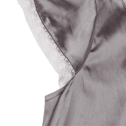 YANFANG Pijama de Vestido,Mujeres De Manga Corta con Cuello En V Homewear Pijamas Vestido Largo Camisones Ropa Dormir Una Pieza para Mujer, Invierno Cremallera Y Felpa, Mameluco Acogedor Esponjosa