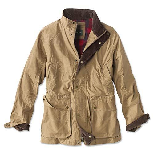Orvis Men's River Road Jacket, Dark Tan, Xx Large