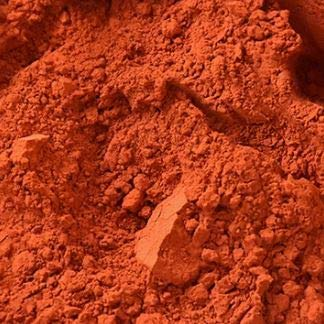 Ercolano Red Natural Mineral Pigment – Pigments for Artistic and Decorative Painting Concrete Clay Lime Plaster Masonry and Paint Products 150 ML   5 OZ