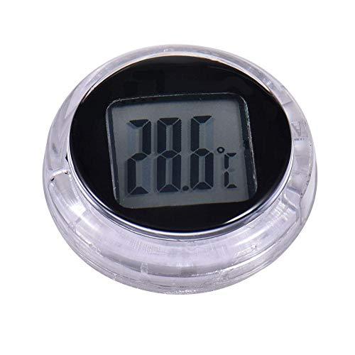 chifans Mini Auto Automobil Digital Temperatur Wasserdicht Innen-Thermometer Auto-Thermometer ideal für Auto/Büro/Keller