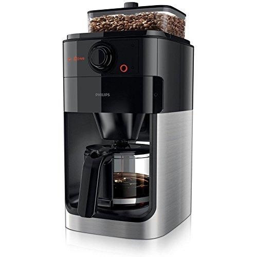 フィリップスコーヒーメーカーエスプレッソマシングラインダーHD7761ブラック1.2Lドリップコーヒー220V Philips Coffee Maker Espresso Machine Grinder HD7761 Black 1.2L Drip Coffee 220V 【並行輸入品】