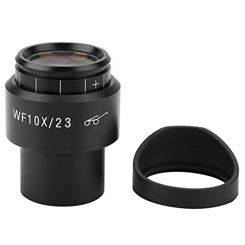 mootea GWF004 WF10X/23 Microscope Wide Angle Eyepiece Ocular Eyepoint Lens Adjustable Wide Field 30mm