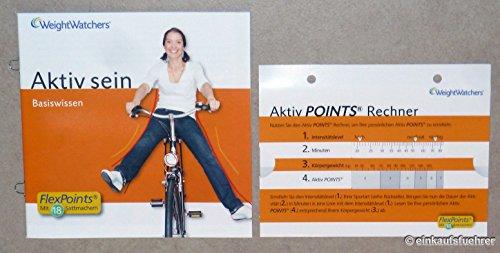 Weight Watchers Basiswissen Aktiv sein mit Aktiv Points Rechner, um Ihre persönlichen Aktiv Points zu ermitteln