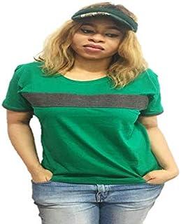 Emoltem Ladies Short Sleeve Cotton T-Shirts (Size M)