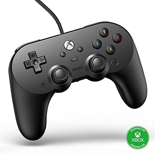 8Bitdo - 8BitDo Pro 2 Wired Controller for Xbox Series X, Xbox Series S, Xbox 0ne & Windows (Windows)