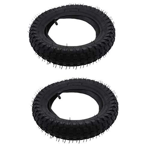 Shiwaki 2 Stück 12,5 x 2,75'' Gummi Innenrohr, Reifen Schlauch Zubehör für Razor MX350/ 400 ATV, Dirt Bike