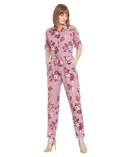 Uptownie Lite Women's Maxi Jumpsuit (Pink,L)