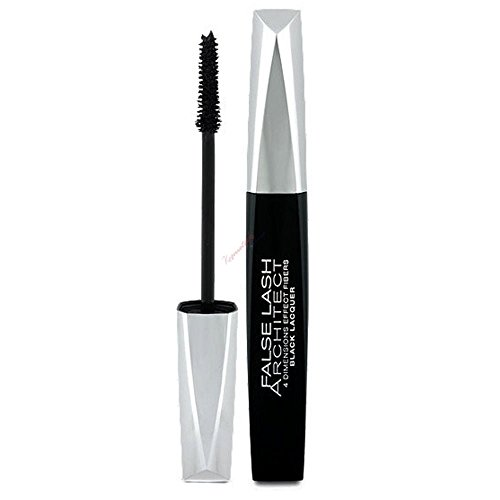 L'Oréal Lash Architect 4D Mascara mit Falsche-Wimpern-Effekt, Black Lacquer