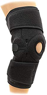 Superior Braces Universal Fitted Hinged Knee Brace Support for Arthritis, Joint Pain Relief, Injury Recovery with Adjustable Strapping