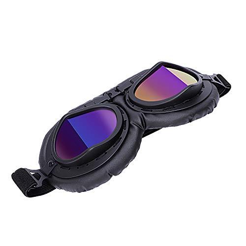 SovelyBoFan Gafas De Ciclismo Al Aire Libre Gafas De Motocicleta A Campo Traviesa Gafas De Proteccion Motocicleta Vintage Casco Gafas De Proteccion Gafas De Caballero: Colores