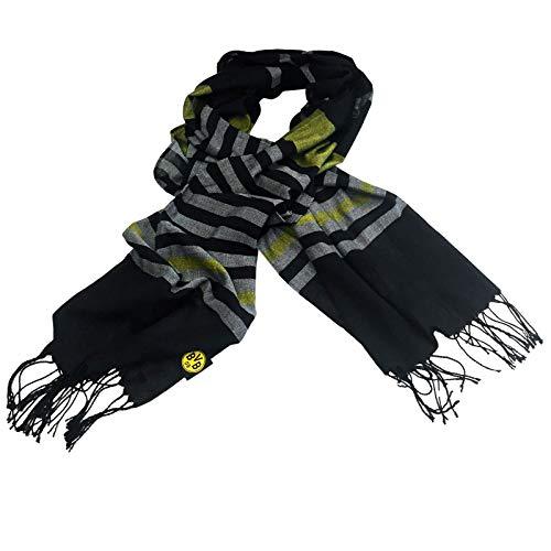 Borussia Dortmund, BVB-Schaltuch, schwarz/Grau/Gelb, 0