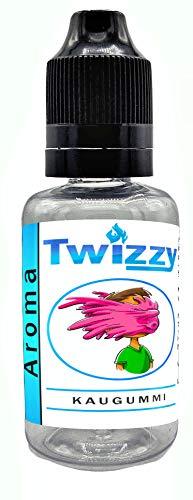 30ml Twizzy XL Kaugummi Aroma | Aroma für Shakes, Backen, Cocktails, Eis | Aroma für Dampf Liquid und E-Shishas | Flav Drops | Ohne Nikotin 0,0mg