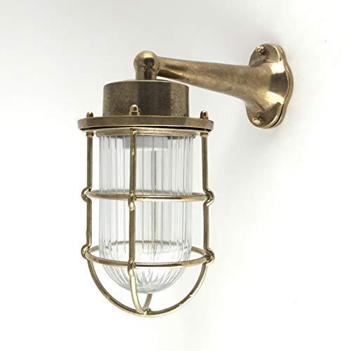 Lámpara de cubierta industrial náutica vintage