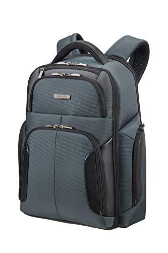 Samsonite XBR - Laptop Backpack 15.6' Zaino Casual, 48 cm, 22 liters, Grigio (Grey/black)
