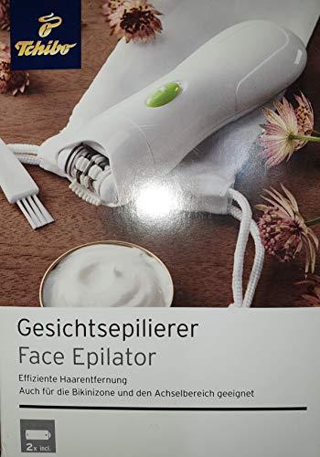 Gesichtsepilierer Effiziente Haarentfernung, auch für Bikinizone und den Achsekbereich geeignet