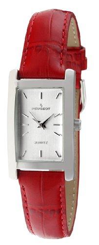 Peugeot Women Rectangular'H' Shape Wrist Watch with Matching Wrist Strap