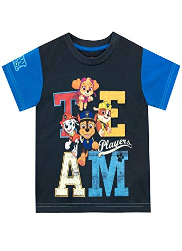 PAW PATROL Jungen Marshall and Chase T-Shirt 110
