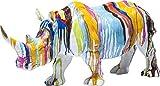 Kare Design Figura Decorativa, Policromo, 26 x 17 x 55 cm