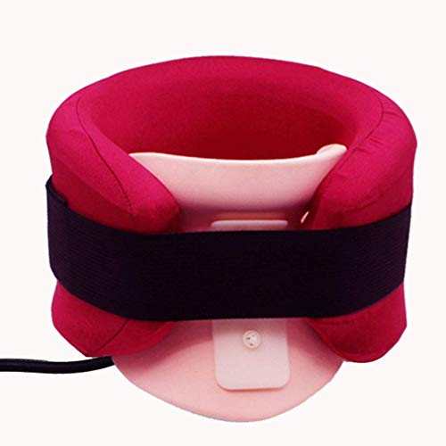 LYATW Luft-Ansatz-Therapie Abnehmbare Stoffabdeckung, Glumlly zervikale Ansatz Streck Bequeme Gewebe, Hals Stretcher Ergonomisches Design, for Instant Neck Pain Relief