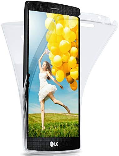 MoEx Funda Protectora 360º de Silicona Compatible con LG G4   Transparente, Transparent