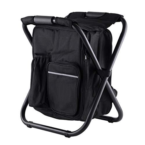 None FBGood - Silla de camping plegable con bolsa de picnic, aislamiento térmico, bolsa de mesa de asiento de senderismo, material de camping para la pesca al aire libre, viaje, playa, barbacoa, etc.