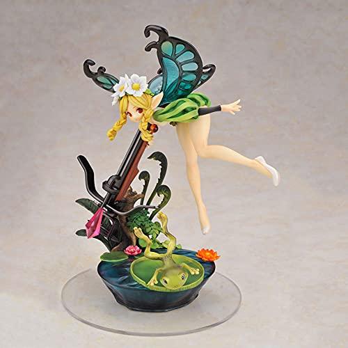 BOBLI Odin Sphere Mercedes Figura De Anime Personaje De Juguete Móvil Muñeca De Dibujos Animados Linda Estatua De Material De PVC Modelo 3D Decoración De Escritorio Juguetes De Acción Colecciones Faná